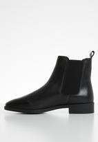 Vero Moda - Loa leather chelsea boot - black