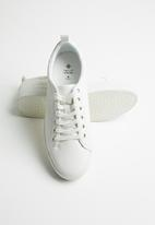 Call It Spring - Setigera lace-up flatform sneaker - white