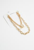 Superbalist - Morgan multi chain - gold
