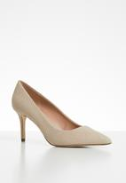 Call It Spring - Faux leather snakeskin court heel - neutral
