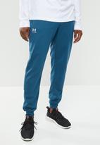 Under Armour - Rival fleece jogger - blue
