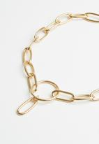 Superbalist - Cali chain link necklace - gold