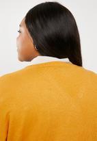 STYLE REPUBLIC PLUS - Dolman sleeve cardigan - yellow