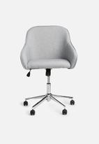 Basics - Madison deluxe office chair - grey