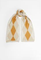 Superbalist - Diamond shape argyle scarf - multi