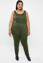 STYLE REPUBLIC PLUS - Easy fit jumpsuit - green