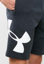 Under Armour - Rival fleece logo short - black