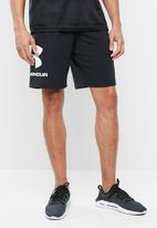 Under Armour - Sportstyle graphic shorts - black