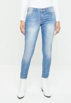 GUESS - Power skinny low - blue