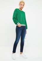 ONLY - Caysa long sleeve top - green