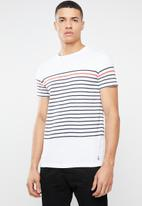 STYLE REPUBLIC - Wash tee - white