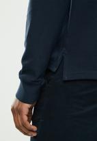POLO - Stretch pique golfer - navy