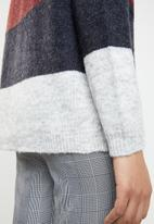 ONLY - Maribel colour block cardigan - multi