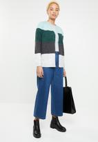ONLY - Maribel colour block cardigan - multi
