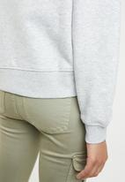 ONLY - Lotta long sleeve round neck sweat - grey