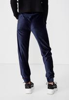 Cotton On - Willow fashion trackie  - navy