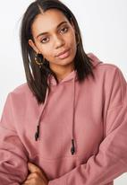 Cotton On - Maxie oversized hoodie  - pink