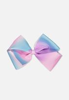 Cotton On - Ombre bow - pink & blue