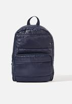 Cotton On - Puffer backpack - navy
