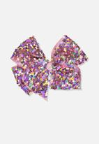Cotton On - Sequin bow - pink