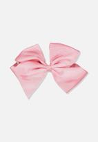 Cotton On - Statement bow - pink