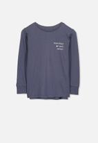 Cotton On - Tom long sleeve tee - navy