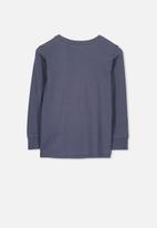 Cotton On - Tom long sleeve tee - navy