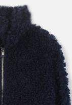 Cotton On - Teddy slouch jacket - navy