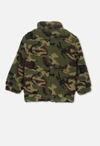 Cotton On - Blaze camo bomber - green