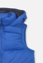 Cotton On - Billie puffer vest - blue