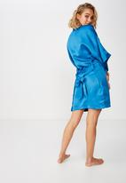 Cotton On - Kimono gown  - blue