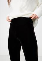 Cotton On - Dakota detail leggings  - black