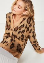 Cotton On - Kate brushed cardigan  - multi