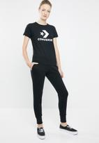 Converse - Converse star chevron signature pant - black