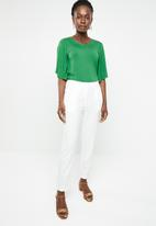 edit - Wide sleeve top - green