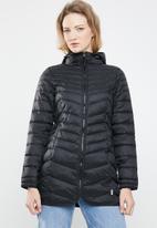 ONLY - Demi puffer coat - black