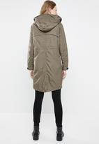 ONLY - Jessica long spring parka - taupe