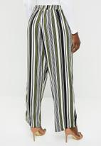 edit - Wide leg lounge pants - multi-colour