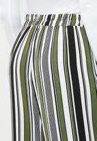 edit - Wide leg lounge pants - multi-colour
