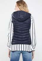 ONLY - Demi puffer gilet - navy