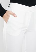 STYLE REPUBLIC - Athleisure smart pants - white