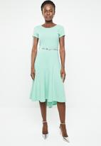 edit - Cutline dress - green