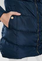 Tokyo Laundry - Lotus puffer jacket - navy