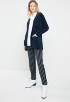 Tokyo Laundry - Adley chenille cardigan - navy