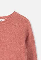 Cotton On - Brinley knit jumper - red