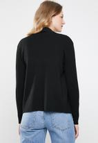 Revenge - Knitted jacket - black