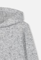 Cotton On - Charlie speckle hoodie - grey