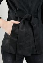 STYLE REPUBLIC - Suede look jacket - black