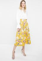 STYLE REPUBLIC - Fit and flare skirt - multi