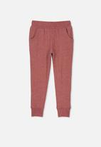 Cotton On - Super soft trackpant - red